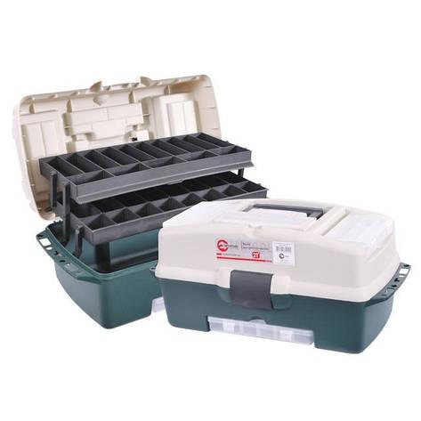 """Ящик для инструментов, 21"""" 530x270x245 мм INTERTOOL BX-6121, фото 2"""