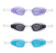 Intex Очки для плавания 55682 (12) Спорт гипоалергенный поливинил 3 цвета SKL11-178784