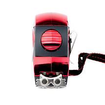 Рулетка 8 м x 25 мм с автоматической блокировкой полотна, на зацепе полотна установлены магниты INTERTOOL MT-0808, фото 3
