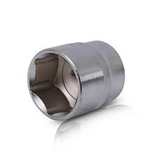 """Голівка шестигранна 1/2"""", 32x44 мм, хром-ванадій INTERTOOL ET-0032"""