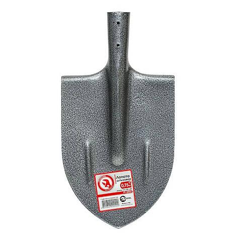 Лопата штыковая 0,75 кг INTERTOOL FT-2002, фото 2