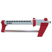 Зрошувач осцилляционный, кнопка регулювання тиску води, площа поливу до 180 кв. м., 4-5 бар, 20 отворів