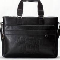 Деловая мужская сумка Armani (AR33671-3 black)