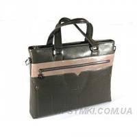 Кожаная сумка с отделением для ноутбука Salvatore Ferragamo (F-51015-1)