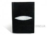 Документница из кожи ската River (STPH 01 Black )