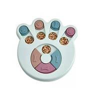 Интерактивная миска-пазл для собак и котов Puzzle Eating, фото 1