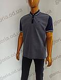 Мужская футболка Поло,Батал, MСL . PSL-26835s. Размеры:2XL(2),3XL,4XL., фото 2