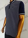 Мужская футболка Поло,Батал, MСL . PSL-26835s. Размеры:2XL(2),3XL,4XL., фото 4