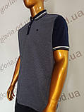Мужская футболка Поло,Батал, MСL . PSL-26835s. Размеры:2XL(2),3XL,4XL., фото 5