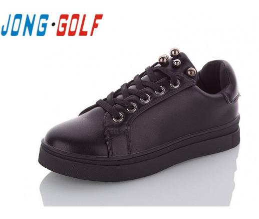 Туфли подросток черные,туфли детские школьные на девочку Jong-Golf-C10042-30