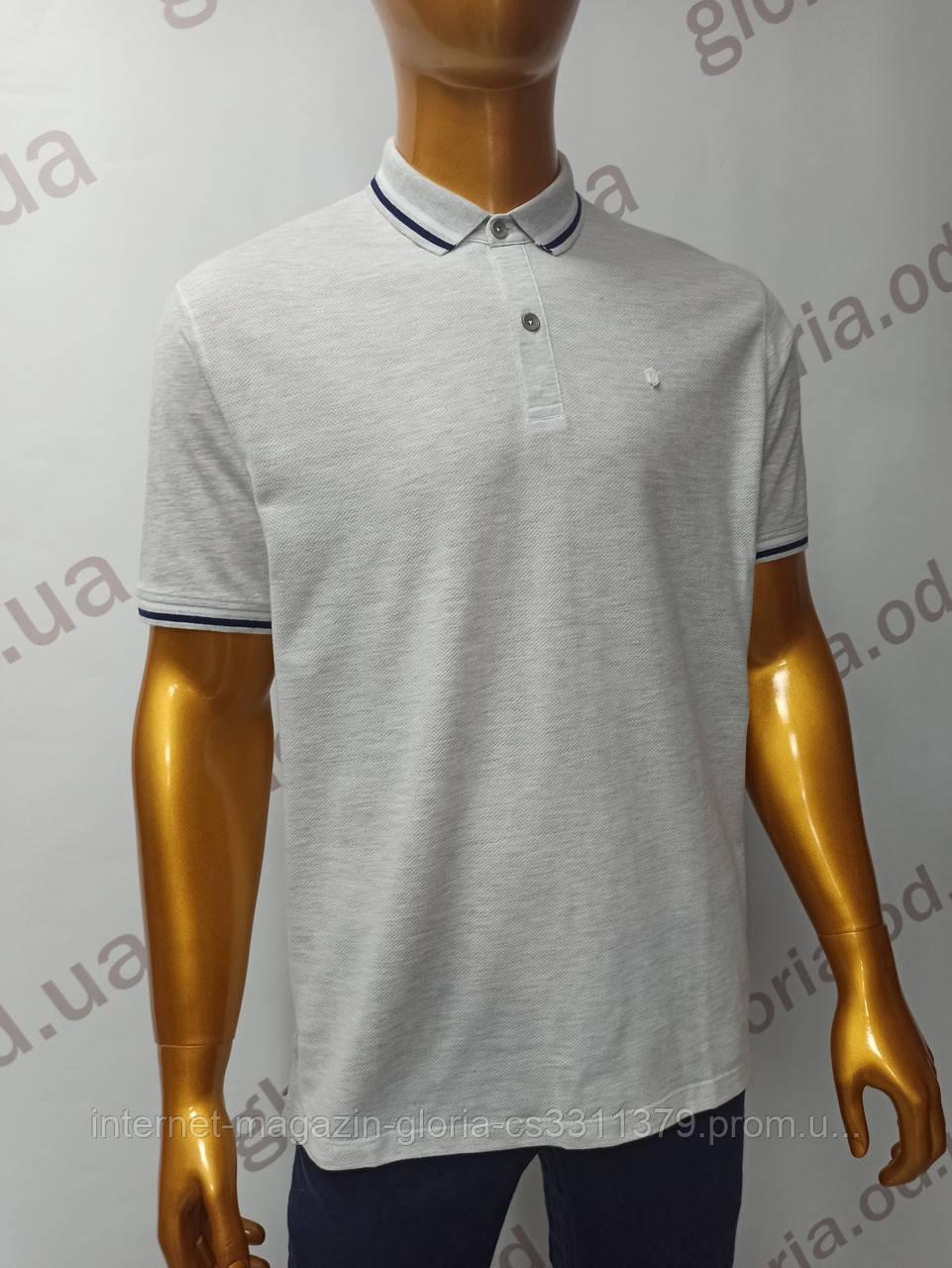 Мужская футболка Поло,Батал, MСL . PSL-26835(b). Размеры:  2XL(2),3XL,4XL.