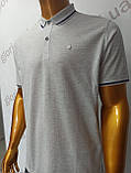 Мужская футболка Поло,Батал, MСL . PSL-26835(b). Размеры:  2XL(2),3XL,4XL., фото 4