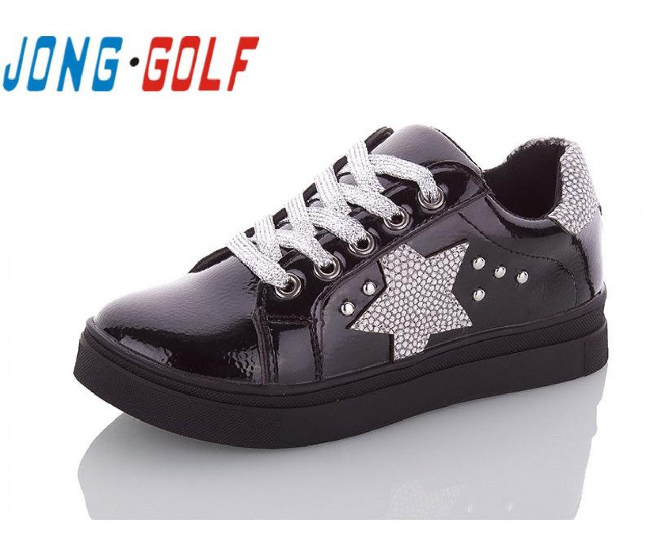 Туфлі підліток чорні туфлі дитячі шкільні на дівчинку Jong-Golf-C10039-0