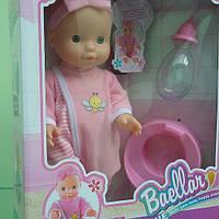 Кукла с бутылочкой и горшком