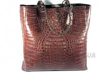 Женская сумка из кожи крокодила RIVER (BCM 592-3 Kango), фото 1