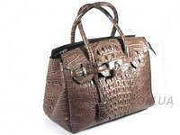Женская сумка из кожи крокодила RIVER (BCM 393 Choko), фото 1