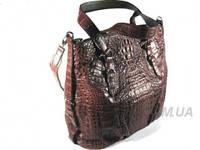Женская сумка из кожи крокодила RIVER (BCM 685-2 Kango)