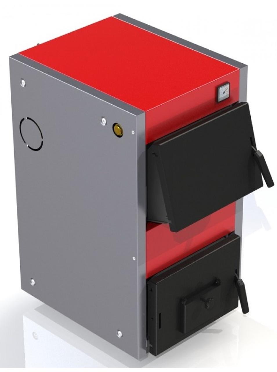 Твердотопливный котел ProTech D Luxe 30 кВт  укомплектован термометром с погружным термобаллоном