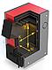 Твердотопливный котел ProTech D Luxe 30 кВт  укомплектован термометром с погружным термобаллоном, фото 5