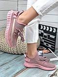 Женские кроссовки текстильные YEEZY, фото 8