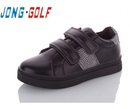 Туфлі підліток чорні туфлі дитячі шкільні на дівчинку Jong-Golf-C10040-30