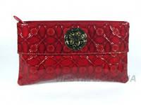 Кожаный женский клатч Gianni Versace (10682)