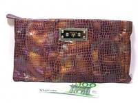 Кожаный женский клатч Prada (10162 big), фото 1