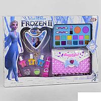 Игровой набор детская косметика - клатч косметичка, маникюрный набор, декоративная косметика Frozen