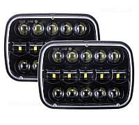 Фара прямокутна LED 5х7 дюйма, 60 Вт, Jeep Chevrolet Ford, GMC Toyota, 12, 45 Вт, MS-S5782