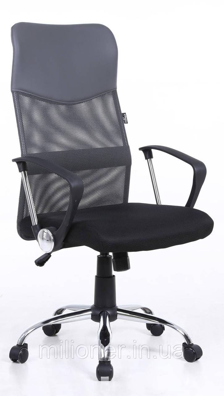 Кресло Bonro Manager серое