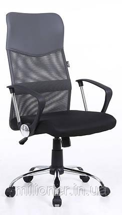 Кресло Bonro Manager серое, фото 2