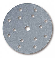 Абразивний круг Mirka Q.Silver P320 Ø150 мм 15 отворів сіро-блакитний