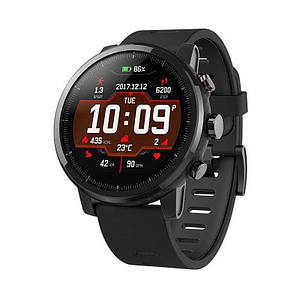 Xiaomi Huami Amazfit Stratos 2 Black smartwatch Global Version Глобальная версия A1619 Умные часы