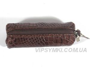 Ключница для длинных ключей из кожи крокодила River (OCMC 32 kango), фото 1