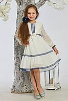 Красивое белое детское платье от производителя