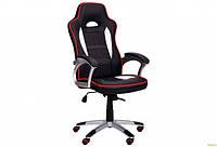 Кресло Драйв 2 Anyfix, обивка экокожа PU черный/белый, арт.521798