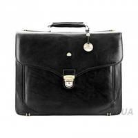 Кожаный мужской портфель с отделением для ноутбука Wittchen (10-3-012), фото 1