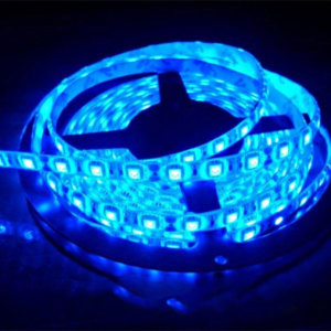 Светодиодная LED лента 5050 Голубая RW
