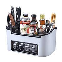 Органайзер для кухонных принадлежностей и специй Clean Kitchen Necessities-Bos JM603, посуда для сушки посуды