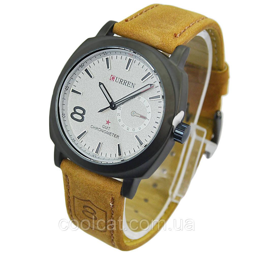 Мужские часы Curren GMT-8 Есть 2 Цвета!