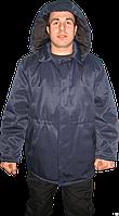 Куртка ватная рабочая с капюшоном, мужская