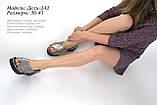 Летняя обувь из натуральной кожи, фото 2