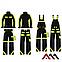 Куртка рабочая CLASSIC-VIS Kurtka черного цвета, фото 3
