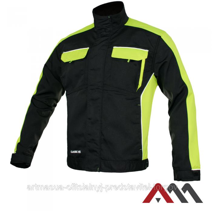 Куртка рабочая CLASSIC-VIS Kurtka черного цвета