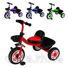 Детский велосипед трехколесный TILLY DRIVE T-318, 4 цвета
