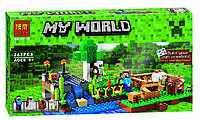 "Конструктор Minecraft Bela 10175 ""Ферма"" (аналог Lego Майнкрафт 21114 ), 262 дет"