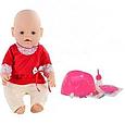 Пупс кукла Маленькая Ляля 8001-5 (Лето)  новорожденный с аксессуарами, фото 2