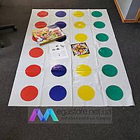 Игра для компании Grand Твистер большое поле 1800х1300 мм для детей взрослых настольная напольная twister