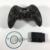 Беспроводной Джойстик 6 в 1 для ПК / PS2 / PS3 / PC360 / ANDROID, TV / WIN10 вибро