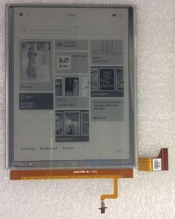 """Матрица Экран Дисплей Модуль E-ink 6.8""""  ED068TG1 KOBO Aura"""